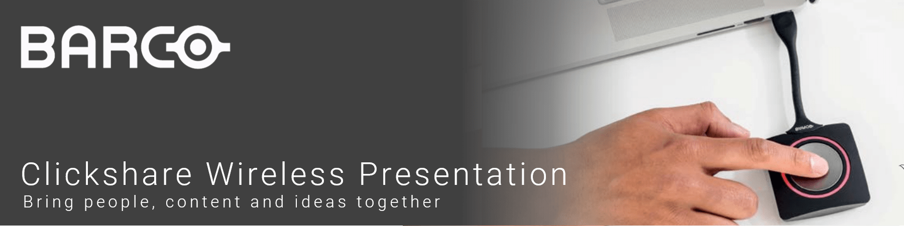 Barco ClickShare Wireless Presentation