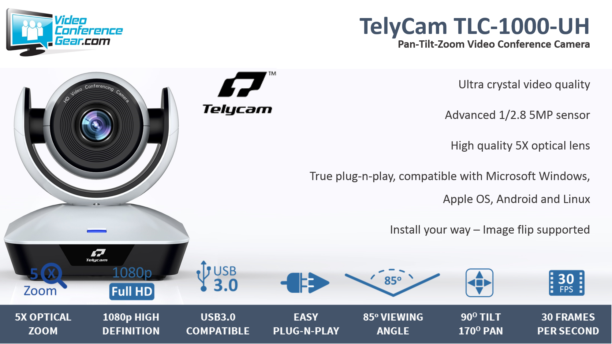 TelyCam TLC-1000-UH